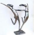 Footloose - one-off 48cm (h) - $3500