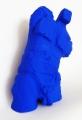 Blue Man Standing