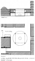 Parliament House Sydney Courtyard Fountain plan and section