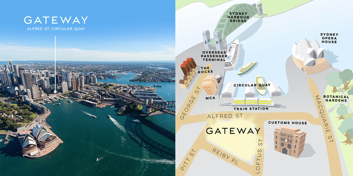 Where is the Gateway Building, Sydney