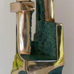 LARISSA SMAGARINSKY 'Golden Arches' [Bronze 37 x 12 x 14]
