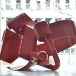 MAURICE SCHLESINGER 'Transformation' [Steel powder coated 40 X 55 x 20 ]